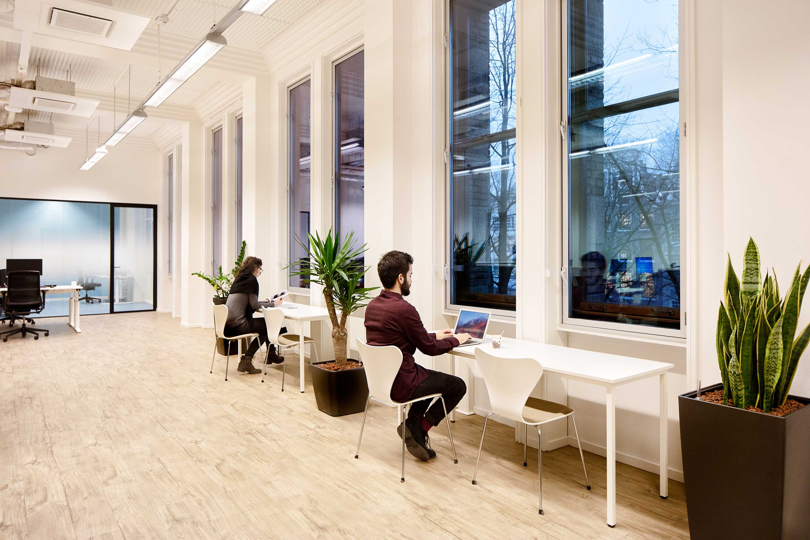 Workplace designed by Akka Architects