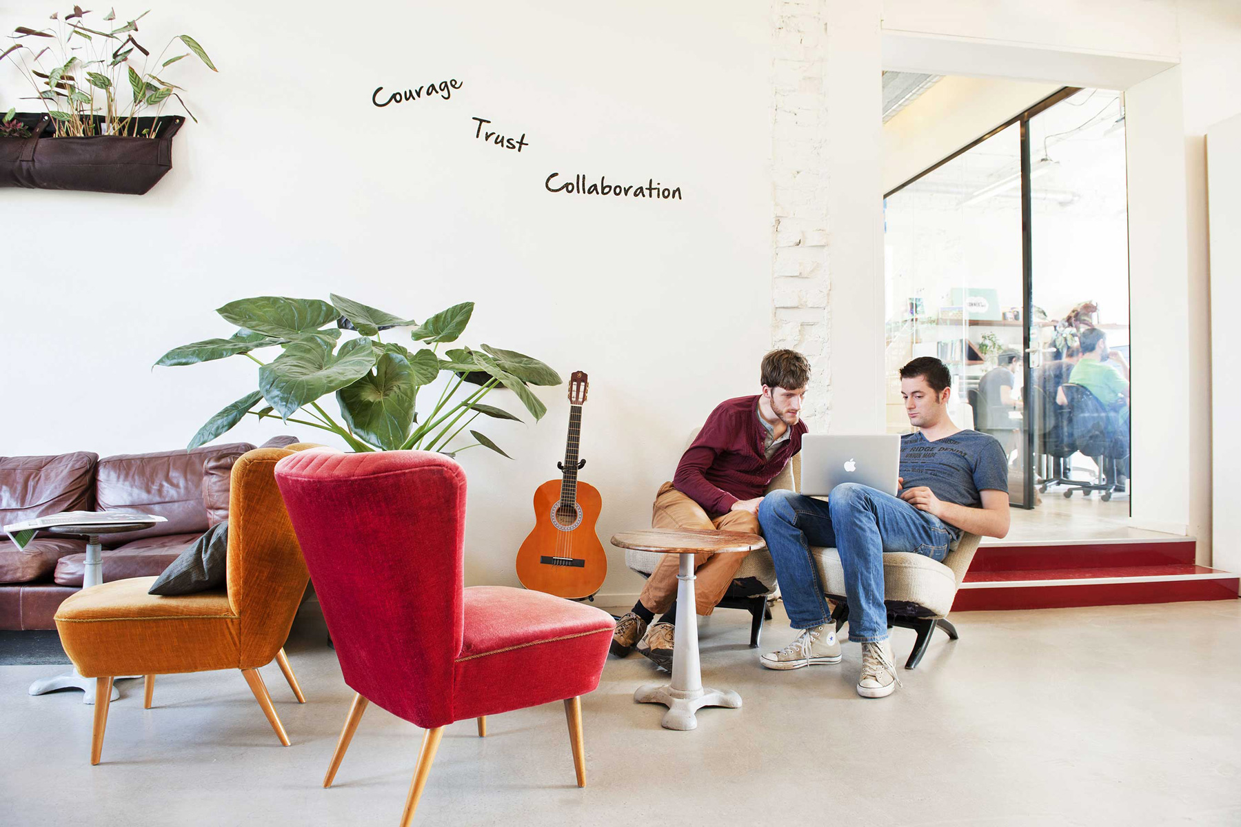 courage trust collaboration business social impact hub workspace amsterdam