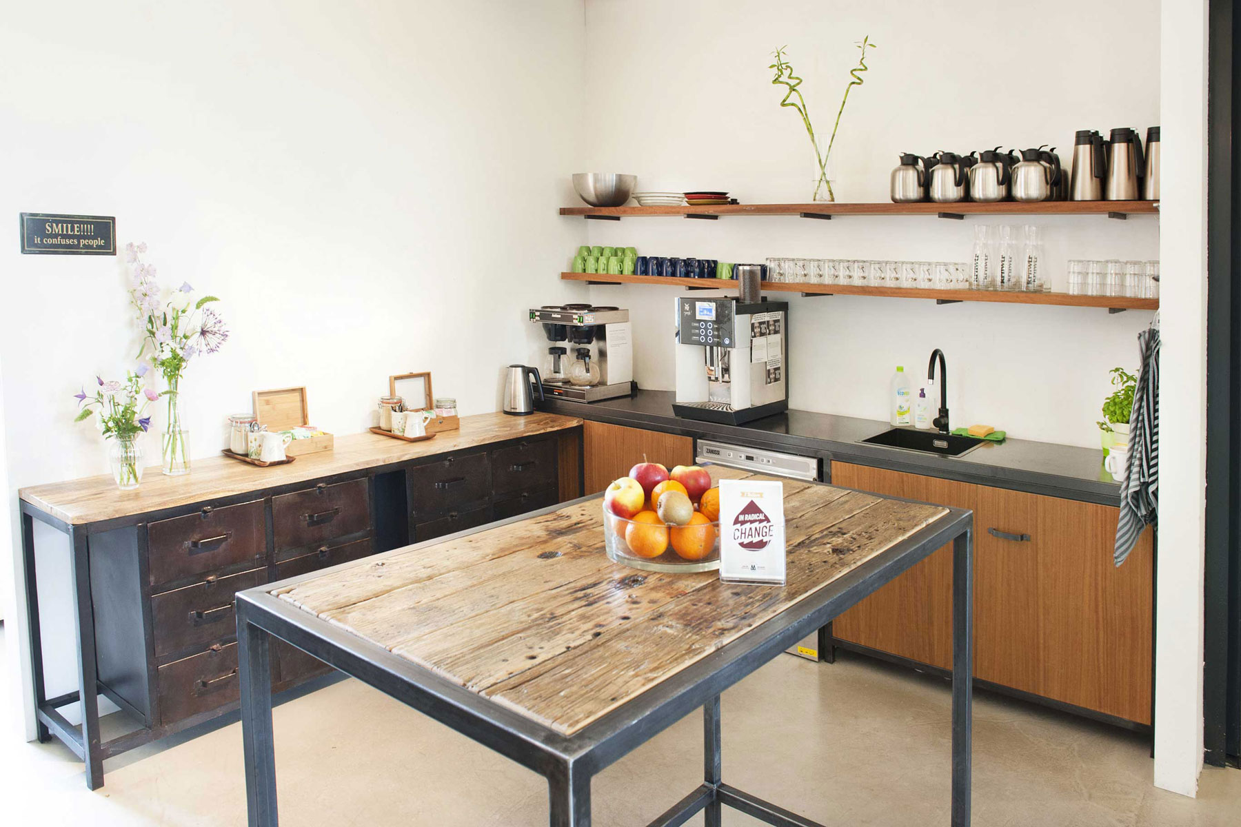 eat sustainable food meal shared kitchen impact hub westerpark amsterdam