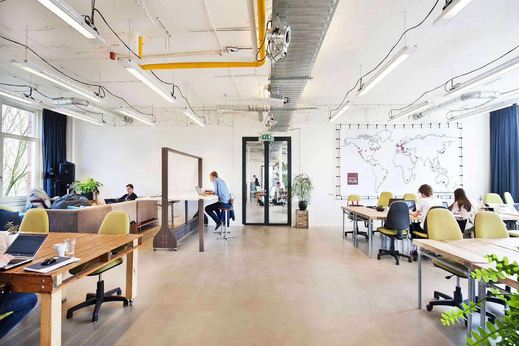 coworking open space impact hub westerpark amsterdam