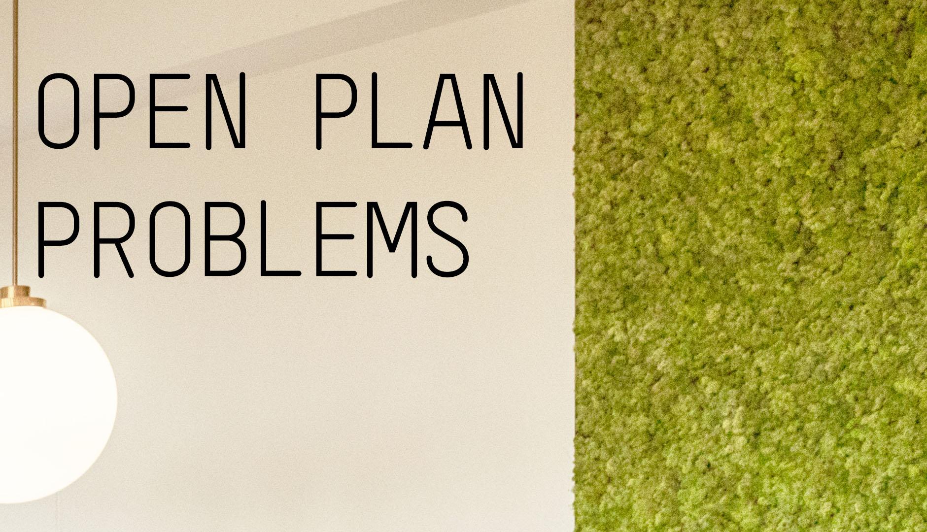 AKKA Architects Blog open plan office problems