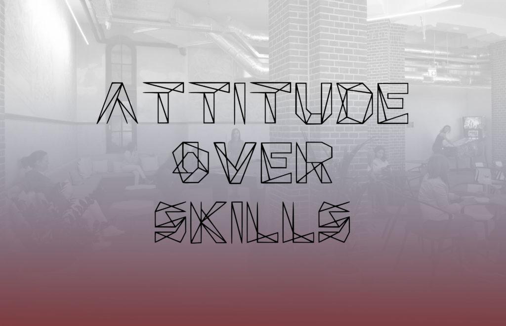 Attitude Most important factor