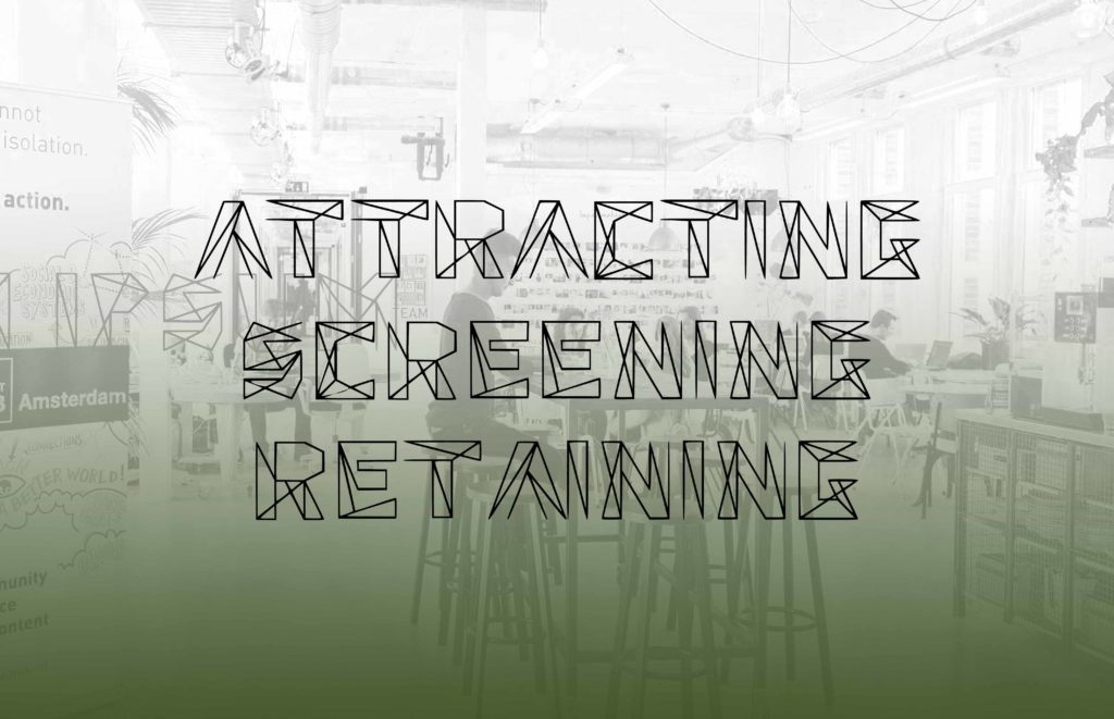 attracting screening retaining best employees
