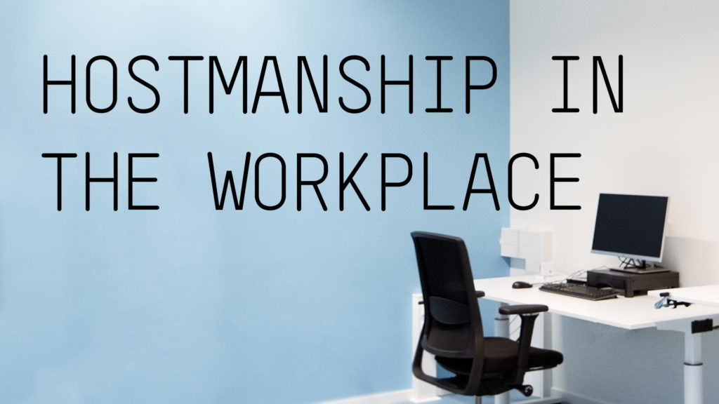 AKKA Architects Blog Hostmanship in the workplace