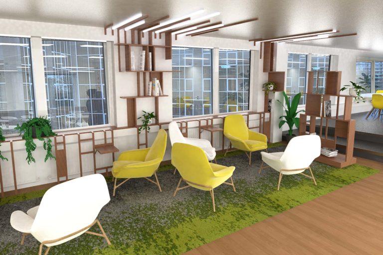 AKKA Architects Slachtofferhulp Netherlands Workplace Design