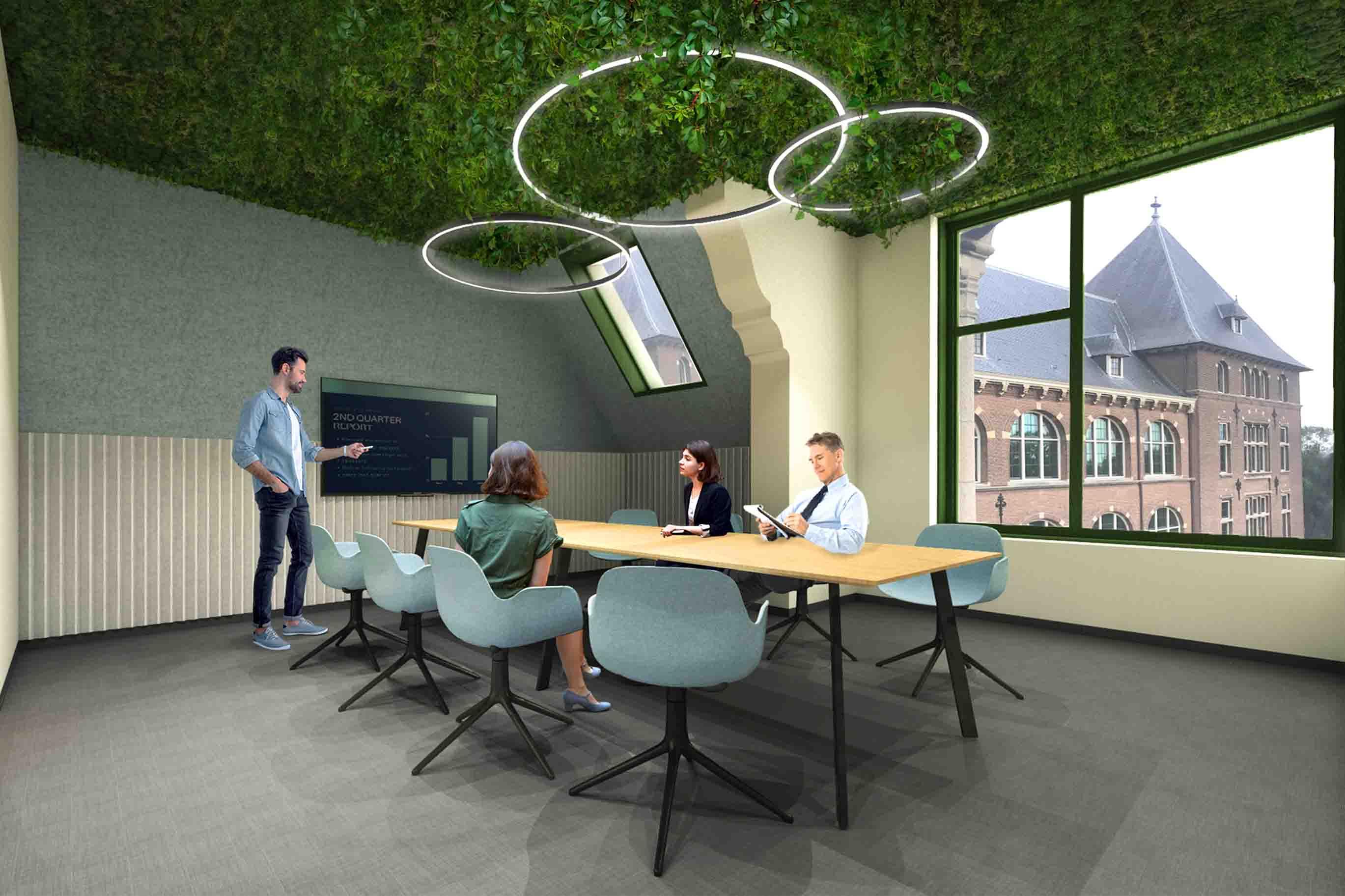 Greenflux Akka Architects workplace design amsterdam