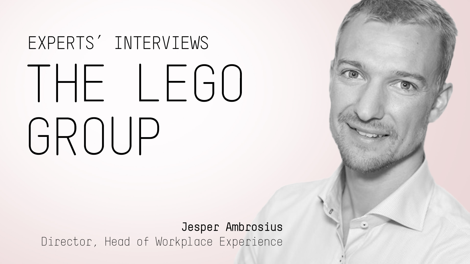 Jesper Ambrosius about the world of workplace
